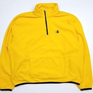 Vintage Champion Quater Zip Pullover Sweatshirt